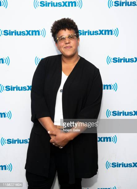 Brittany Howard of Alabama Shakes visits the SiriusXM Studios on June 05 2019 in New York City