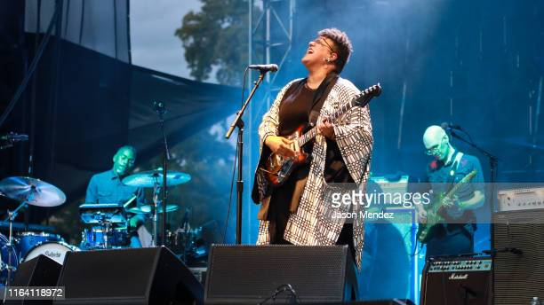 Brittany Howard performs at 2019 Afropunk Brooklyn at Commodore Barry Park on August 25 2019 in New York City