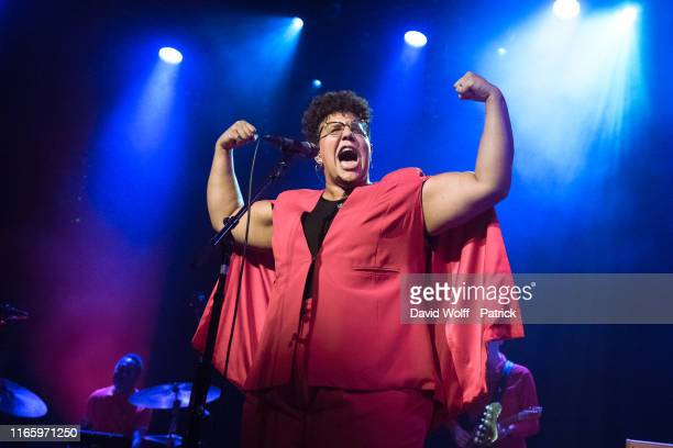 Brittany Howard performs at L'Alhambra on September 4 2019 in Paris France