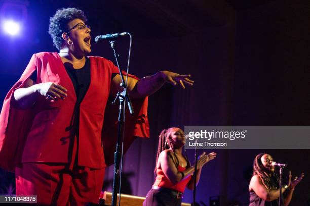 Brittany Howard performs on stage at EartH Hackney on August 29 2019 in London England