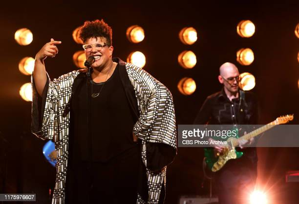 Brittany Howard performs on THE LATE LATE SHOW WITH JAMES CORDEN scheduled to air Thursday October 10 2019 on the CBS Television Network