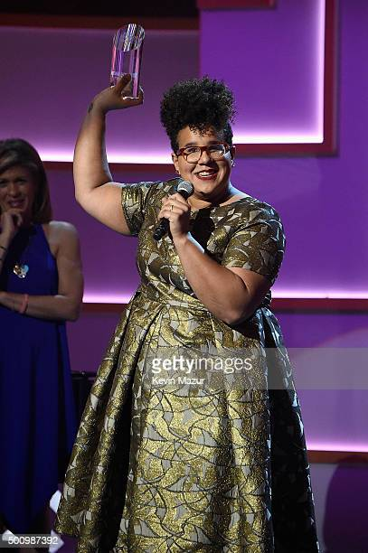 Brittany Howard speaks onstage during Billboard Women In Music 2015 on Lifetime at Cipriani 42nd Street on December 11 2015 in New York City
