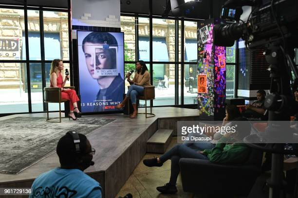 Brittany JonesCooper interviews Amy Hargreaves at Build Studio on May 23 2018 in New York City