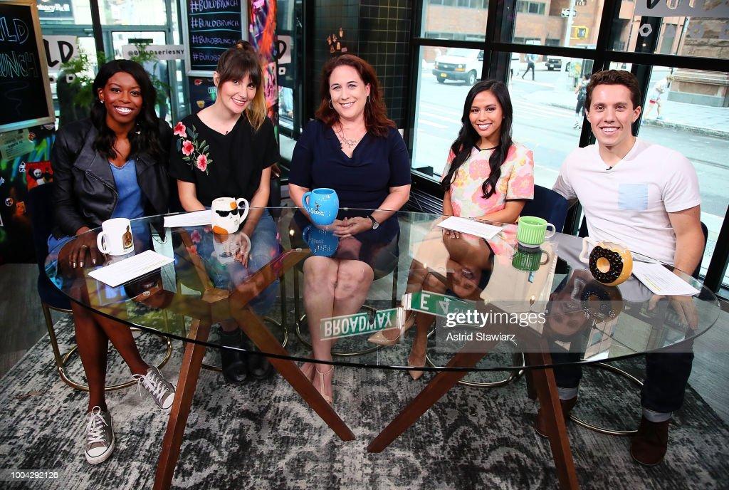 Celebrities Visit Build - July 23, 2018