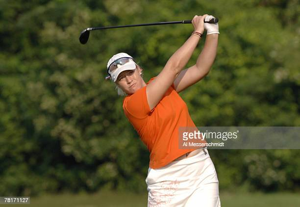 Brittany Lincicome during the third round at Newport Country Club site of the 2006 U S Women's Open in Newport Rhode Island July 2