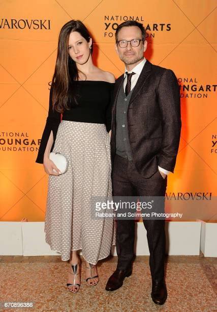 Brittany Lopez Slater and Christian Slater attends the 2nd Annual NationalArts Foundation New York Gala at The Metropolitan Museum of Art on April...