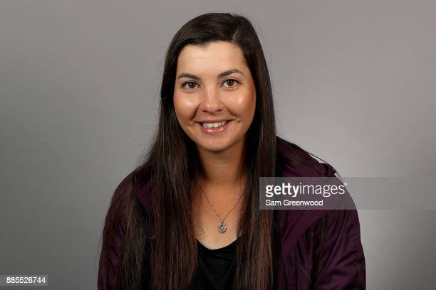 Brittany Marchand of Canada poses for a portrait during LPGA Rookie Orientation at LPGA Headquarters on December 4 2017 in Daytona Beach Florida