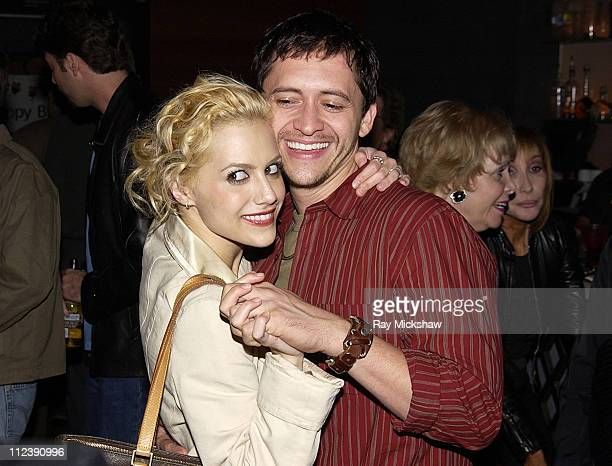 Brittany Murphy and Clifton Collins Jr during 'The Rules of Attraction' Premiere AfterParty Hosted by Flaunt Magazine and Lions Gate Films at...