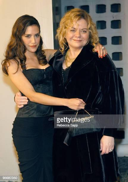 Brittany Murphy and mom Sharon Murphy