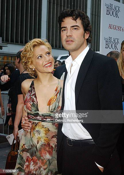 Brittany Murphy and Ron Livingston during Little Black Book New York Premiere Arrivals at Ziegfeld Theater in New York City New York United States