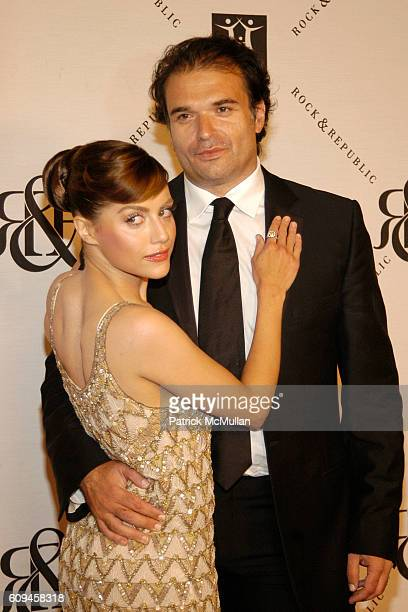 Brittany Murphy and Simon Monjack attend 2007 Award of Hope Gala Honoring Michael Ball of Rock Republic with Performance by John Legend at Four...