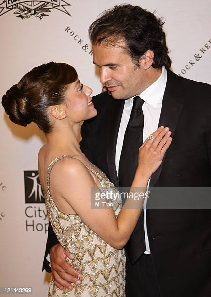 Brittany Murphy and Simon Monjack during 2007 Award of Hope Gala Arrivals at Beverly Wilshire Four Seasons Hotel in Beverly Hills California United...