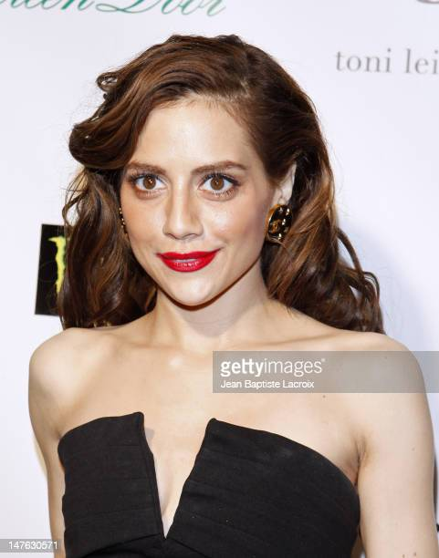 Brittany Murphy attends Across The Hall Los Angeles Premiere at Laemmle's Music Hall 3 on December 1 2009 in Beverly Hills California