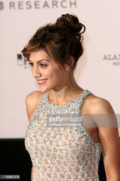 Brittany Murphy during 2005 Cannes Film Festival AmFar Party Arrivals in Cannes France