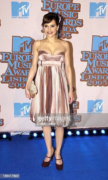 Brittany Murphy during 2005 MTV European Music Awards Lisbon Arrivals at Atlantic Pavilion in Lisbon Portugal