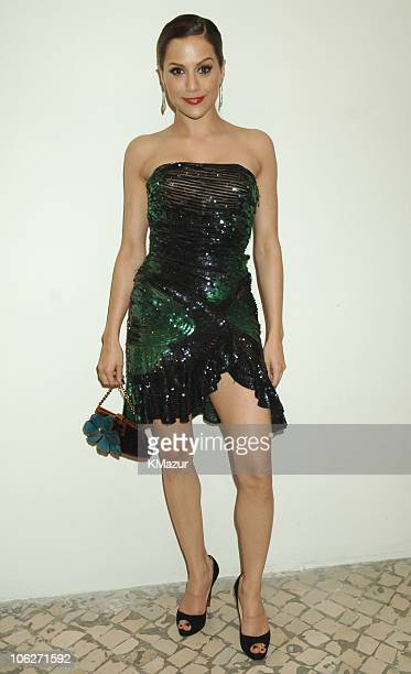 Brittany Murphy during 2005 MTV European Music Awards Lisbon Backstage in Lisbon Portugal