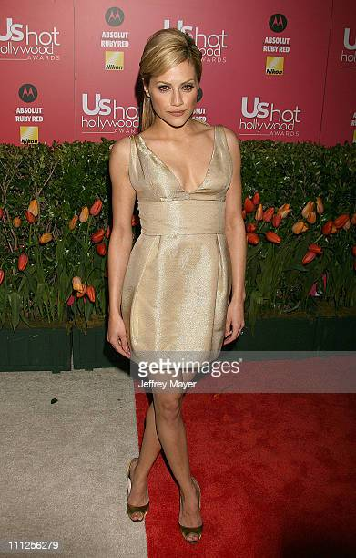 Brittany Murphy during 2006 US Weekly Hot Hollywood Awards Arrivals at Republic Restaurant Lounge in Los Angeles California United States