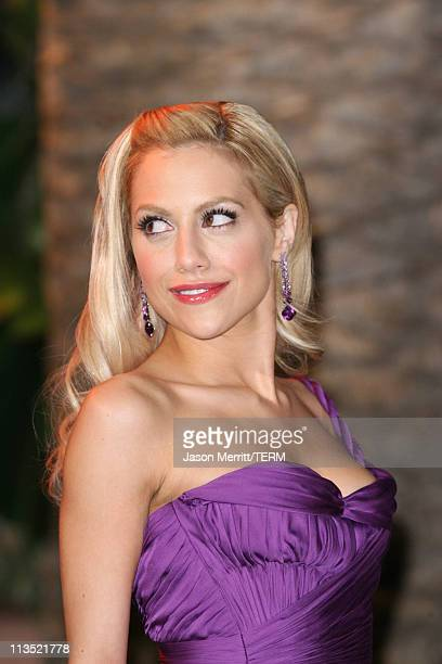 Brittany Murphy during 2006 Vanity Fair Oscar Party at Morton's in West Hollywood California United States