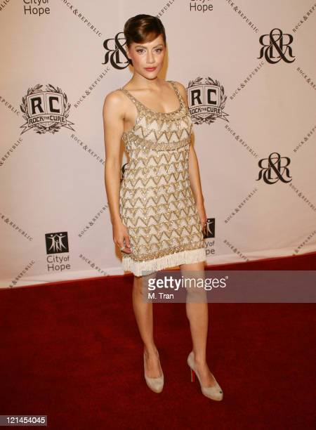 Brittany Murphy during 2007 Award of Hope Gala Arrivals at Beverly Wilshire Four Seasons Hotel in Beverly Hills California United States