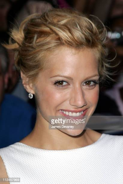 Brittany Murphy during Brittany Murphy Matt Damon The Hives and Carmelo Anthony Visit the Late Show with David Letterman July 22 2004 at Ed Sullivan...