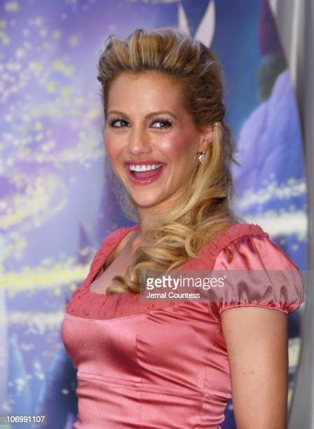 Brittany Murphy during Brittany Murphy Named as the Voice of Tinker Bell for the 2007 Walt Disney Production of 'Tinker Bell' at Jacob Javits Center...