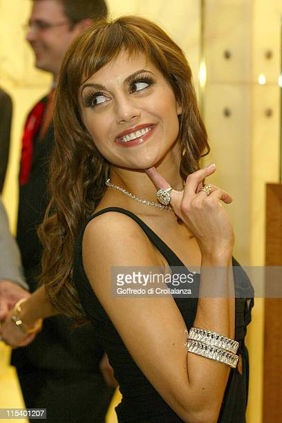 Brittany Murphy during Brittany Murphy Opens Harrods 2005 Summer Sale at Harrods in London Great Britain