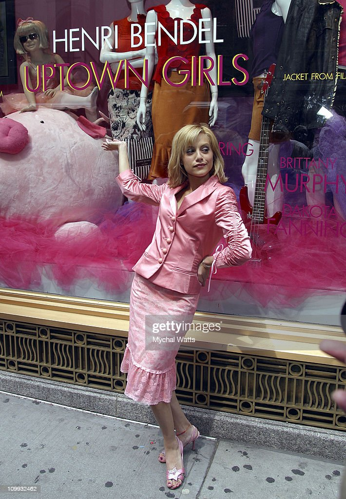 Brittany Murphy Unveils the Exclusive Uptown Girls Window Display at Henri Bendel : News Photo