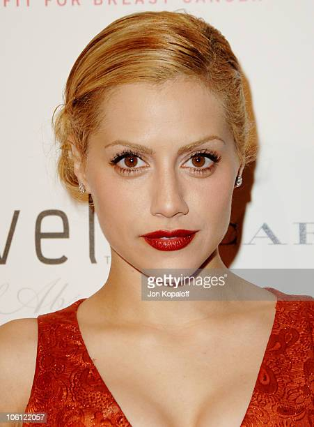 Brittany Murphy during Carolina Herrera Los Angeles Boutique Opening Arrivals at Carolina Herrera in West Hollywood California United States