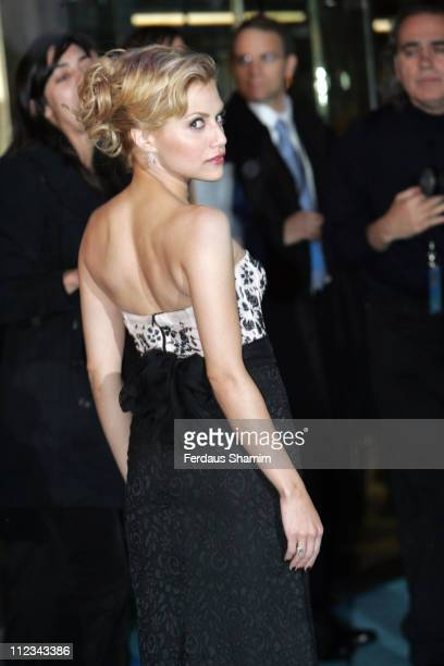 """Brittany Murphy during """"Happy Feet"""" London Premiere - Outside Arrivals in London, Great Britain."""