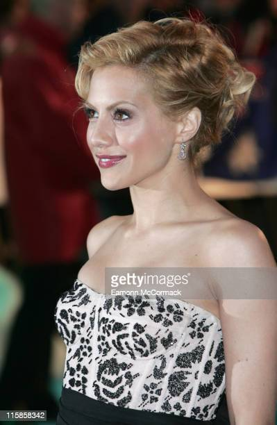 Brittany Murphy during Happy Feet London Premiere Outside Arrivals in London Great Britain