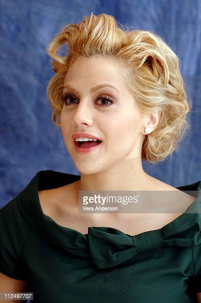Brittany Murphy during Happy Feet Press Conference with Brittany Murphy at Four Seasons in Beverly Hills California United States