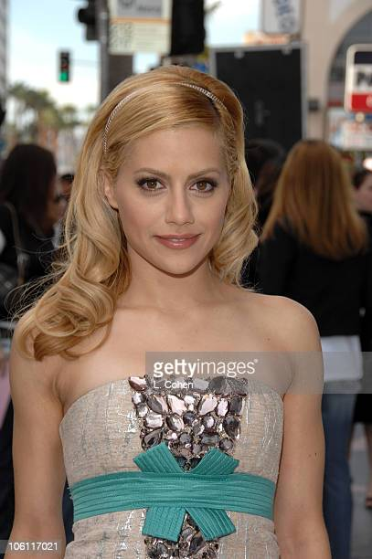 Brittany Murphy during Happy Feet World Premiere Red Carpet at Grauman's Chinese Theatre in Hollywood California United States
