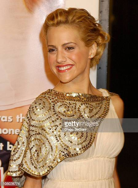 Brittany Murphy during Just Married Los Angeles Premiere at Pacific Cinerama Dome in Hollywood California United States