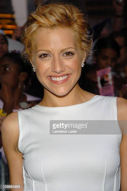 Brittany Murphy during Matt Damon and Brittany Murphy Arrive at The Late Show with David Letterman at Ed Sullivan Theater in New York City, New York,...