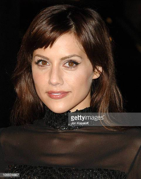 Brittany Murphy during New Line Cinema's Domino Los Angeles Premiere Arrivals at Grauman's Chinese Theater in Hollywood California United States