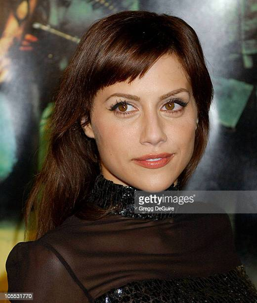 Brittany Murphy during New Line Cinema's Domino Los Angeles Premiere Arrivals at Grauman's Chinese Theatre in Hollywood California United States