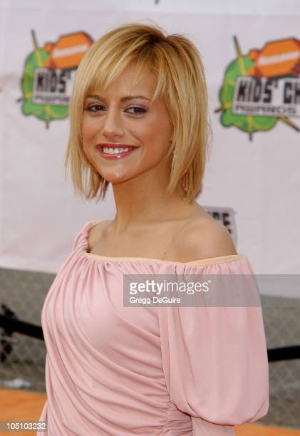 Brittany Murphy during Nickelodeon's 16th Annual Kids' Choice Awards 2003 - Arrivals at Barker Hanger in Santa Monica, California, United States.