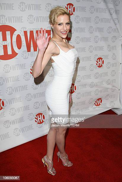 Brittany Murphy during Showtime Presents Liza With a 'Z' Arrivals at MGM Screening Room in Century City California United States