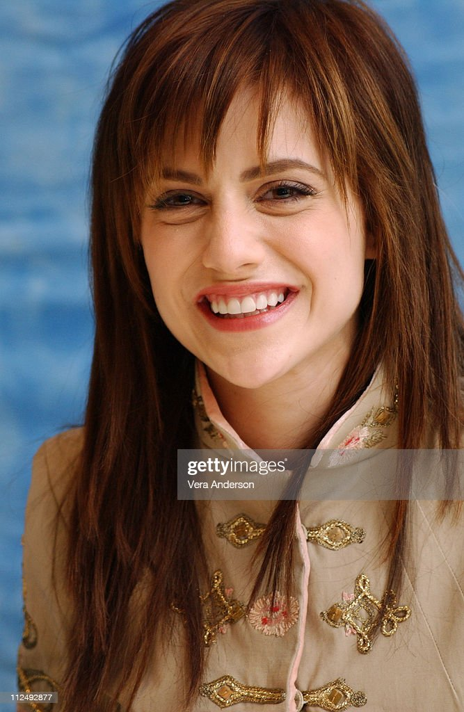 Brittany Murphy during 'Sin City' Press Conference with Jessica Alba, Benicio del Toro, Rosario Dawson, Brittany Murphy, Clive Owen and Robert Rodriguez at Four Seasons Hotel in Beverly Hills, California, United States.
