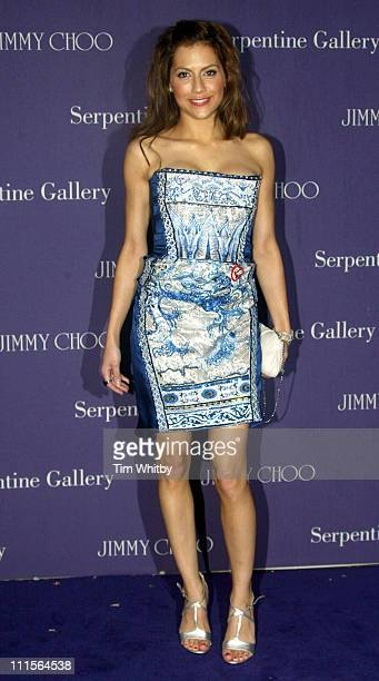 Brittany Murphy during The 2005 Serpentine Gallery Summer Party Cohosted By Jimmy Choo Outside Arrivals at The Serpentine Gallery in London Great...