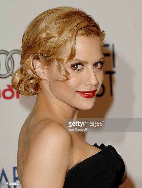 Brittany Murphy during The Dead Girl Los Angeles Premiere Arrivals at ArcLight Rooftop Loft in Hollywood California United States