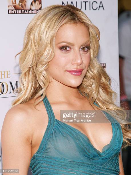 Brittany Murphy during 'The GroomsMen' Los Angeles Premiere Arrivals at ArcLight Cinemas in Hollywood CA United States