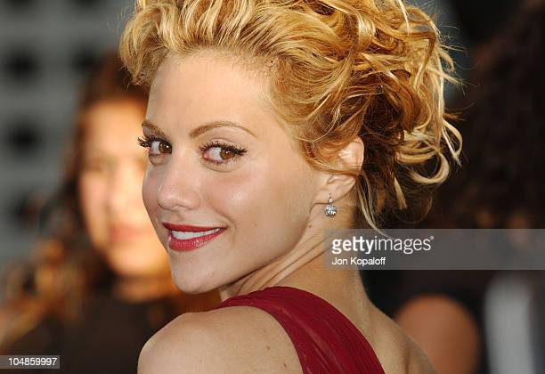 Brittany Murphy during Uptown Girls Los Angeles Premiere at ArcLight Cinerama Dome in Hollywood California United States