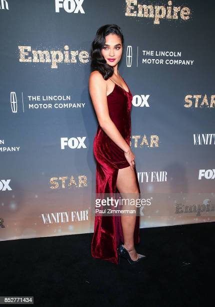 Brittany O'Grady attends 'Empire' 'Star' Celebrate FOX's New Wednesday Night Red Carpet at One World Observatory on September 23 2017 in New York City