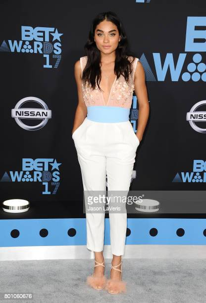 Brittany O'Grady attends the 2017 BET Awards at Microsoft Theater on June 25 2017 in Los Angeles California