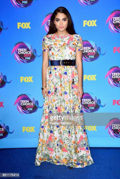 Brittany O'Grady attends the Teen Choice Awards 2017 at Galen Center on August 13 2017 in Los Angeles California