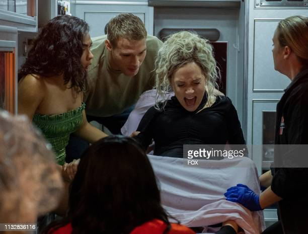 Brittany O'Grady Matthew Noszka and Jude Demorest in the Zion fall finale episode of STAR airing Wednesday Dec 5 on FOX