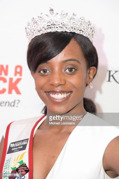 Brittany Patillo attends the 145th Kentucky Derby Unbridled Eve Gala at The Galt House Hotel Suites Grand Ballroom on May 03 2019 in Louisville...