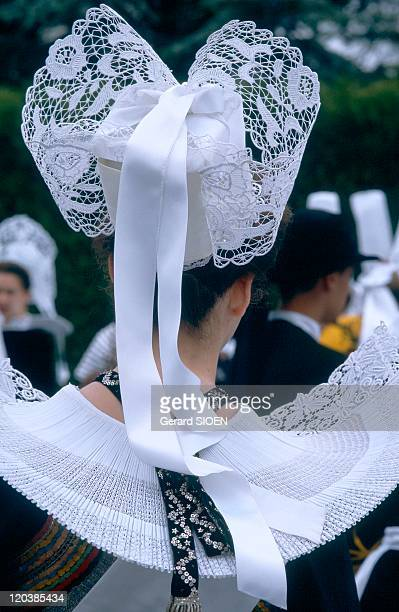 Brittany plural and singular in France Headdress