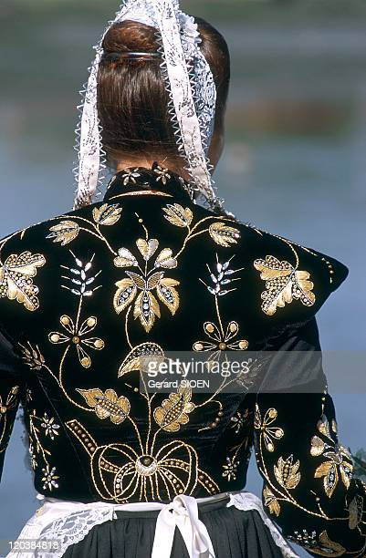 Brittany plural and singular in France Traditional outfit